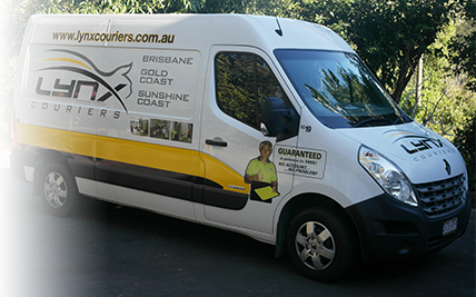 Brisbane Courier Van